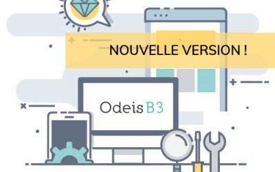 La version 26 d'Odeis Bijou3 est disponible !